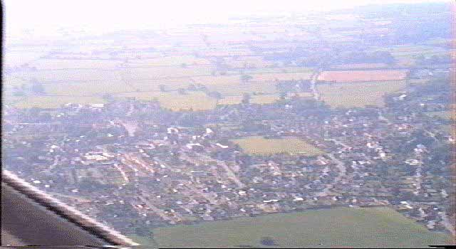 Wrington from the air